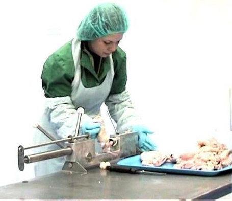 Ручное устройство выдавливания кости обвалки окороков, фото 2