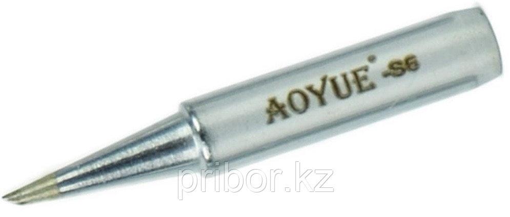AOYUE T-S6. Сменное жало со скосом