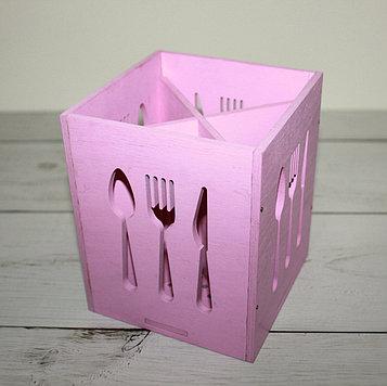 Подставочки под вилки-ложки розовая
