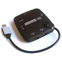 USB TypeC Card Reader+HUB V-T OT-9110