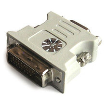 Переходник V-T DVI 24+1(m)-VGA(f)