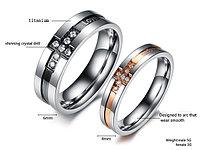 """Двойные кольца """"Вдохновение"""", фото 1"""