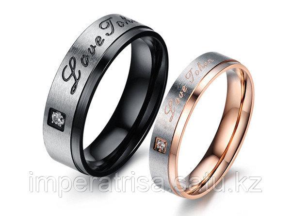 """Двойные кольца """"Нежная страсть""""*"""