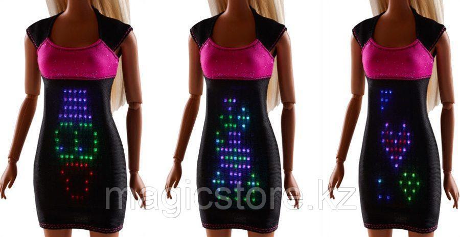 Кукла Барби в Светящемся платье Barbie Digital Dress Doll - фото 4