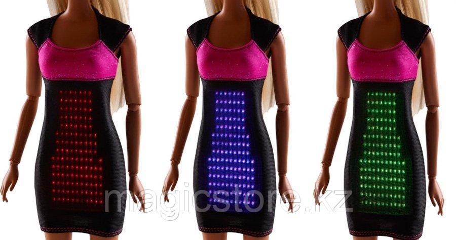 Кукла Барби в Светящемся платье Barbie Digital Dress Doll - фото 5
