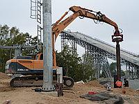 Вибропогружатель Daedong для экскаваторов массой от 28-40 тонн