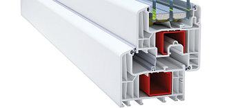 Профиль для производства пластиковых конструкций Deceuninck Eforte 84 (Декенинк Эфорте 84)