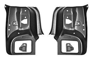 Внутренняя облицовка задних фонарей (ABS) (2 шт) RENAULT Logan 2014-