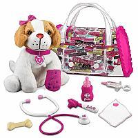 Собачка Барби в сумке Доктор Кит, Barbie Dog Electronic Doctor Kit