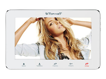 "Монитор видеодомофона TR-29 W 7"" белый"