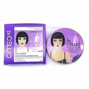 Интенсивный восстанавливающий коллагеновый крем 100г/Dr.Cellio Premium Intense Revitalizing Collagen Cream
