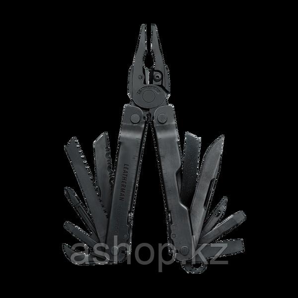 Мультитул полноразмерный Leatherman Super Tool 300, Кол-во функций: 19 в 1, Цвет: Чёрный, (ST300N)