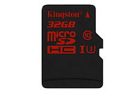 Карта памяти MicroSD 32GB Class 10 U3 Kingston SDCA3/32GBSP