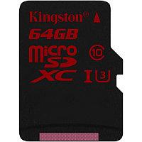 Карта памяти MicroSD Kingston 64GB SDCA3/64GBSP