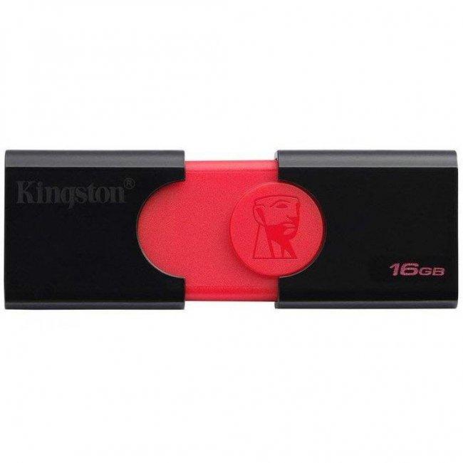 USB-флеш 3.0 Kingston DT106/16GB (16Gb, Black)