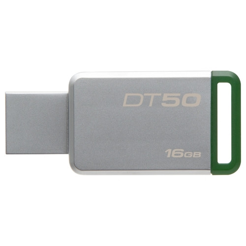 USB-флеш 3.1 Kingston DT50/64GB (64Gb, Grey)