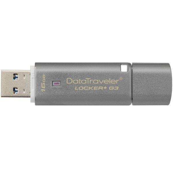 USB-флеш 3.0 Kingston DTLPG3/16GB (16Gb, Grey)