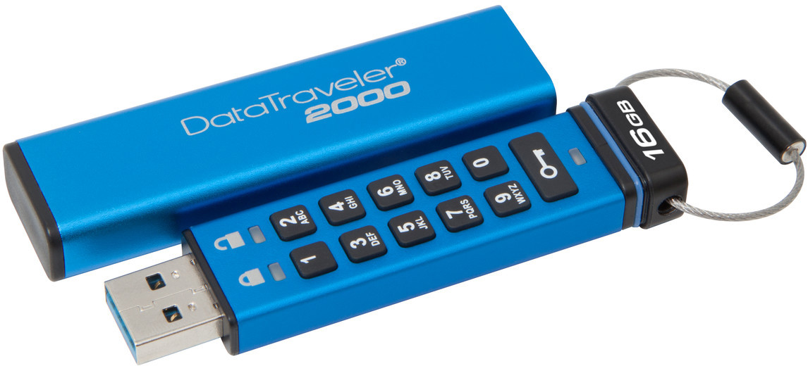USB-флеш 3.1 Kingston DT2000/16GB (16GB, Blue)