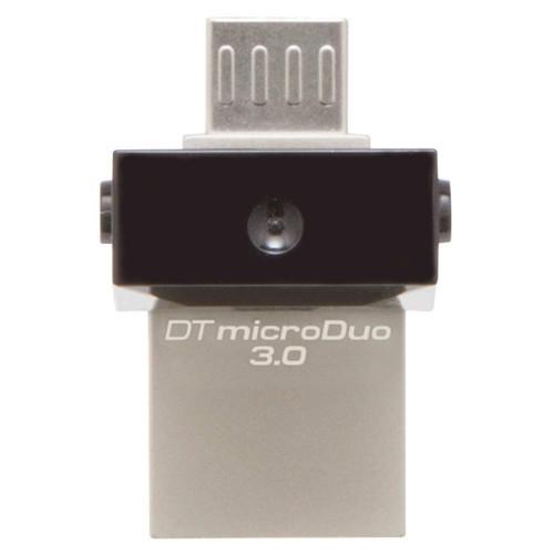 USB-флеш 3.0 Kingston OTG DTDUO3/32GB (32Gb, Grey)