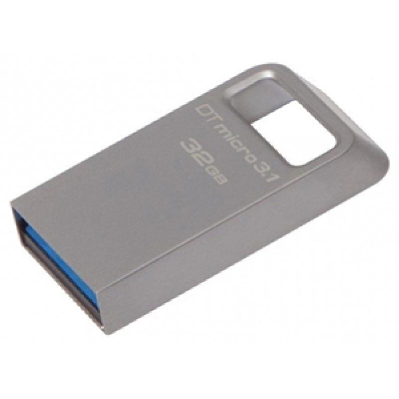 USB-флеш 3.1 Kingston DTMC3/32GB (32Gb, Grey)