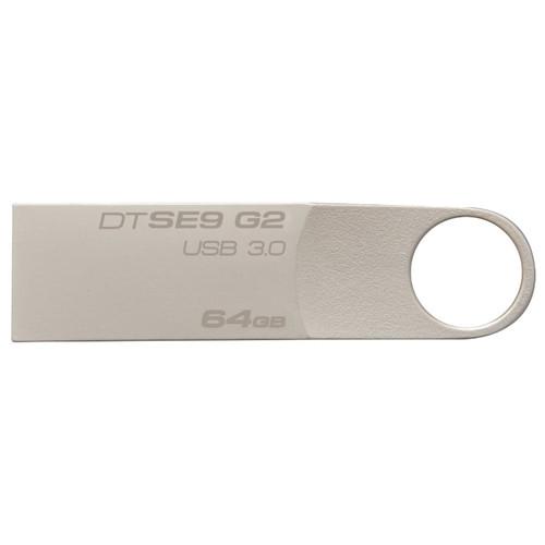 USB-флеш 3.0 Kingston DTSE9G2/64GB (64Gb, Black)
