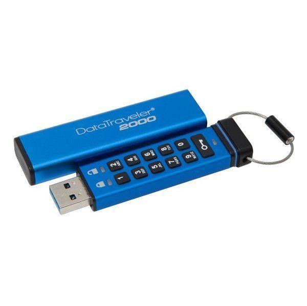 USB-флеш 3.1 Kingston DT2000/64GB (64Gb, Blue)