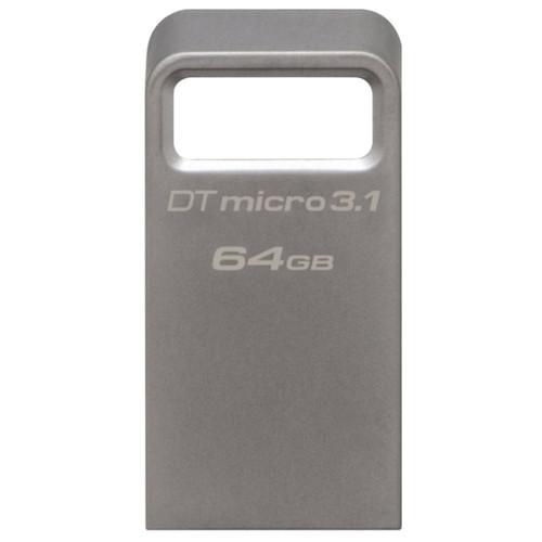USB-флеш 3.1 Kingston DTMC3/64GB (64Gb, Silver)