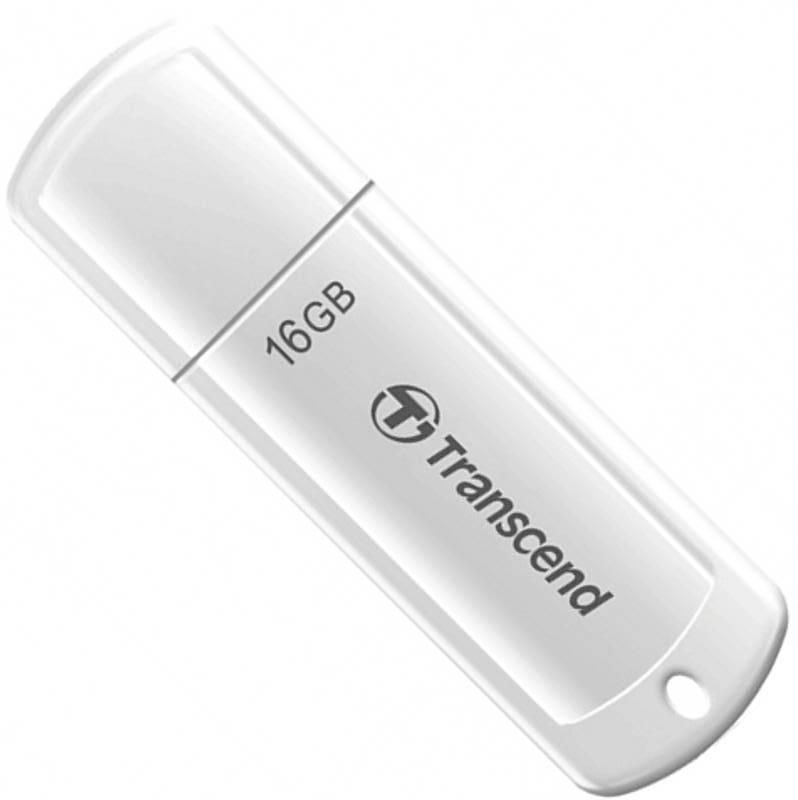 USB-флеш 2.0 Transcend TS16GJF370 (16Gb, White)
