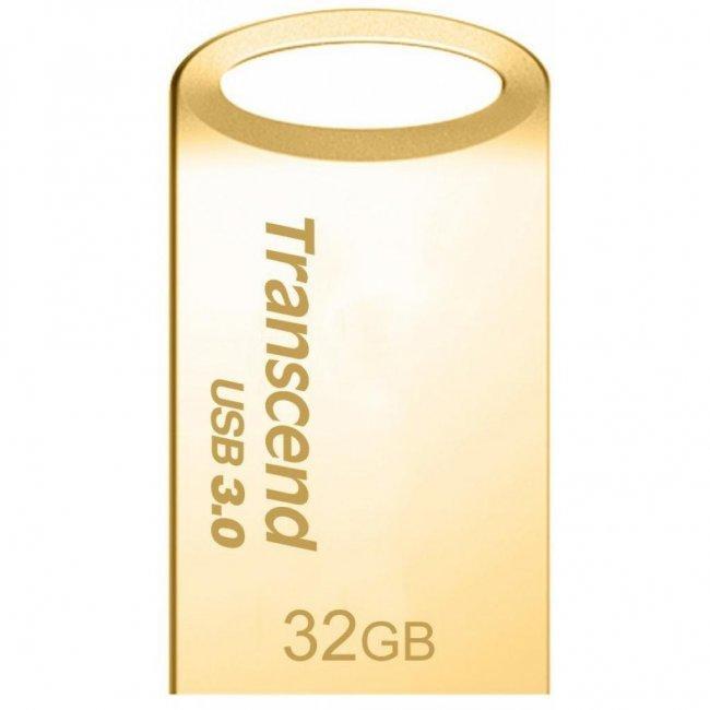 USB-флеш 3.0 Transcend TS32GJF710G (32Gb, Gold)