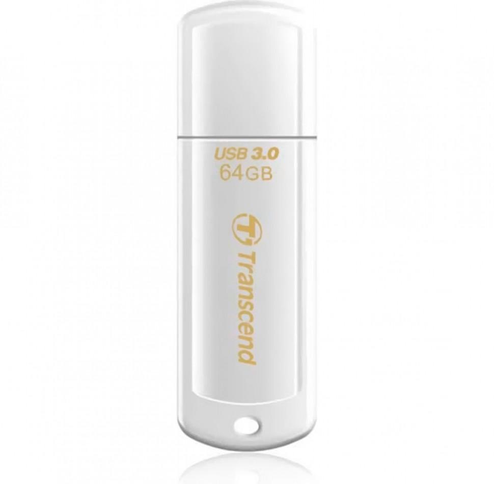 USB-флеш 3.0 Transcend TS64GJF730 (64Gb, White)