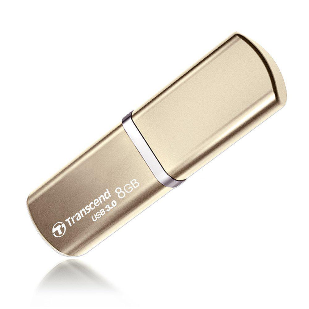 USB-флеш 3.0 Transcend TS8GJF820G (8Gb, Gold)