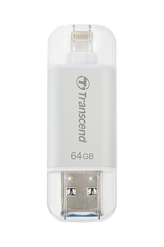 USB-флеш для Apple Transcend JetDrive Go 300 TS64GJDG300S (64Gb, White)