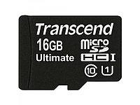 Карта памяти MicroSD 16GB Class 10 U1 Transcend TS16GUSDHC10U1