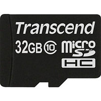 Карта памяти MicroSD 32GB Class 10 Transcend TS32GUSDC10