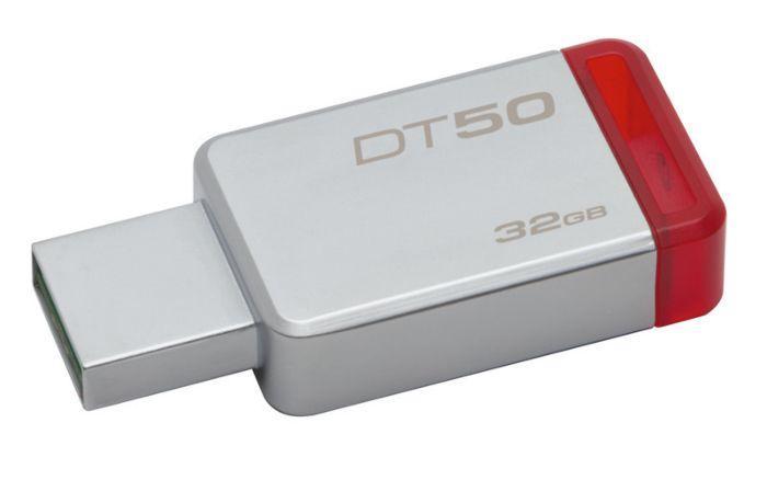 USB-флеш 3.0 Kingston DT50/32GB (32Gb, Grey)