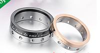 """Двойные кольца для влюбленных """"Прекрасные чувства""""*"""