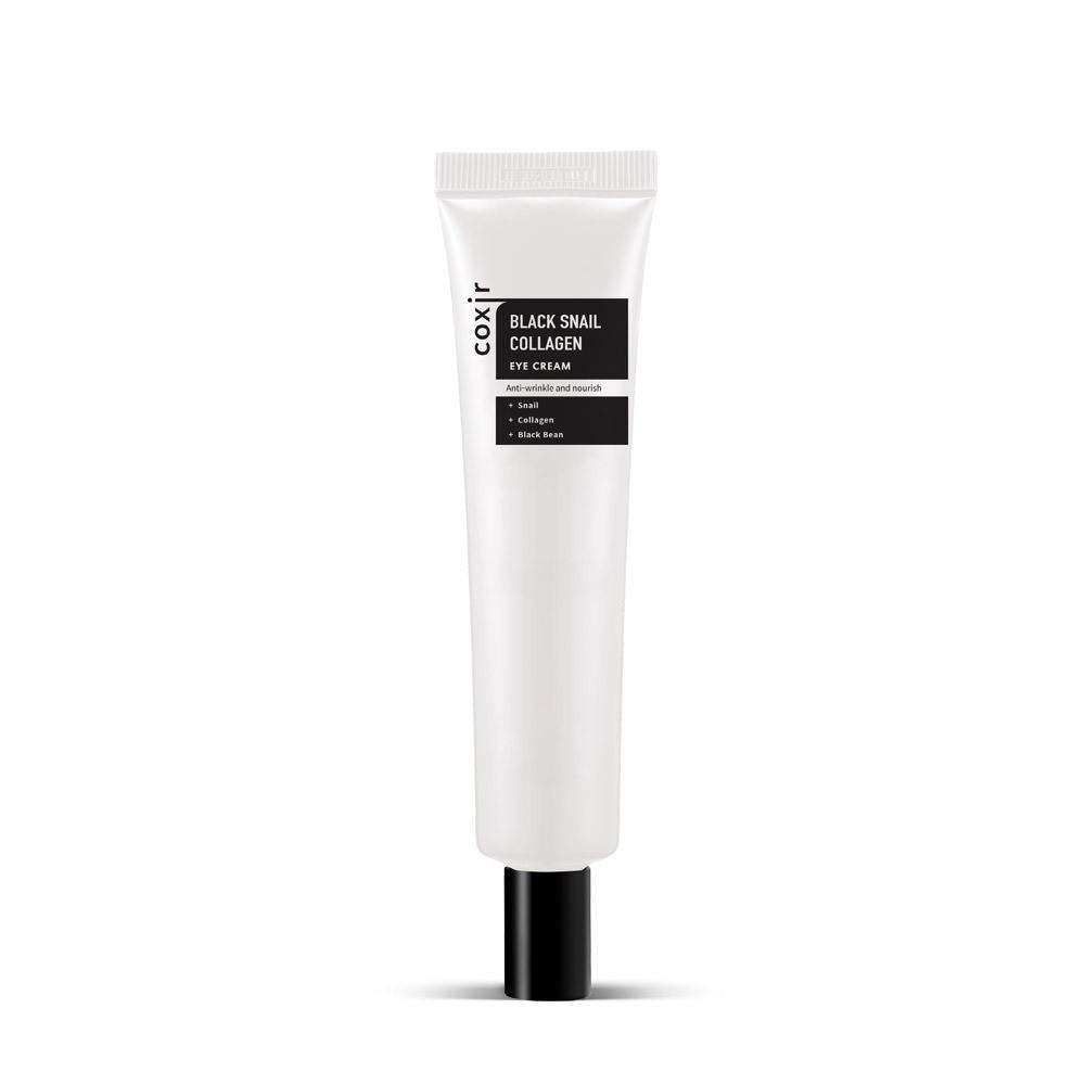 Coxir Black Snail Collagen Eye Cream Антивозрастной Питательный Крем для Век 30мл.