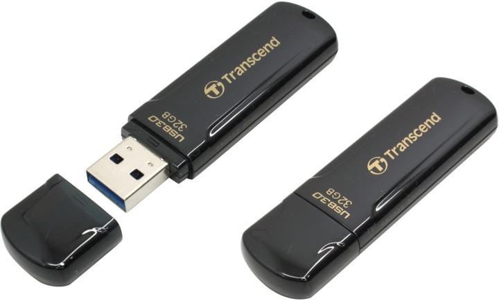 USB-флеш 3.0 Transcend TS32GJF700 (32Gb, Black)