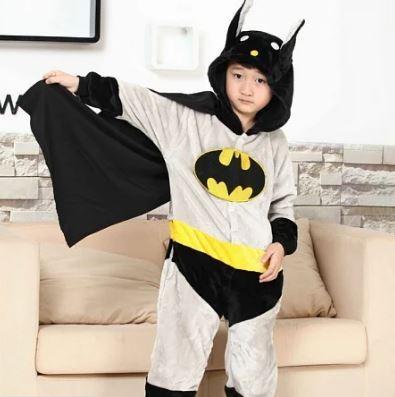 Детская пижама кигуруми Бэтмен