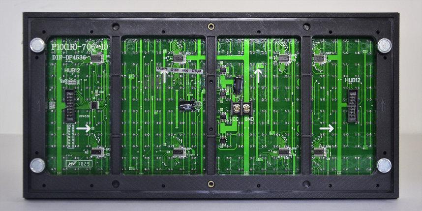 LED светодиодный модуль SMD,  P10, Зеленый, фото 2
