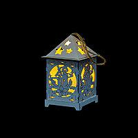 Новогодний светильник-домик
