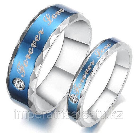 """Парные кольца для влюблённых """"Forever Love"""""""
