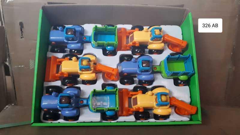 Набор тракторов 6-ти