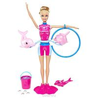 Кукла Барби Дрессировщица веселых дельфинов Barbie Dolphins Swim