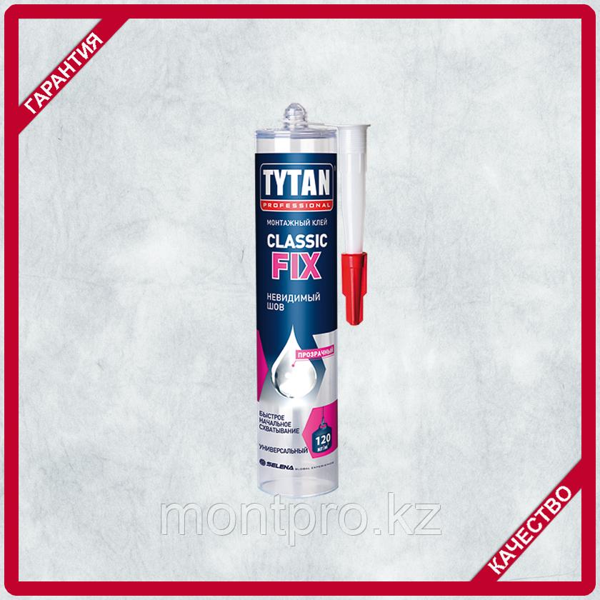 Прозрачный монтажный клей TYTAN Classic FIX