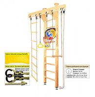 Домашний спортивный комплекс Kampfer Little Sport Ceiling Basketball Shield 2.60, №1 Натуральный