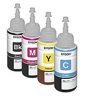 Оригинальные чернила для Epson L222 (70 мл, 4 цвета)