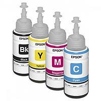Оригинальные чернила для Epson L655 (70 мл, 4 цвета)