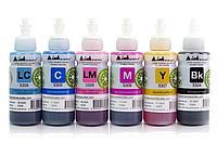 Светостойкие чернила INKSYSTEM для фотопечати на Epson L805 100мл (6 цветов)