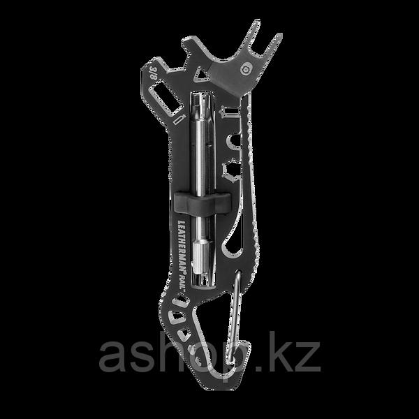 Мультитул оружейный Leatherman Rail, Функционал: Для огнестрельного оружия, Кол-во функций: 6 в 1, Цвет: Чёрны